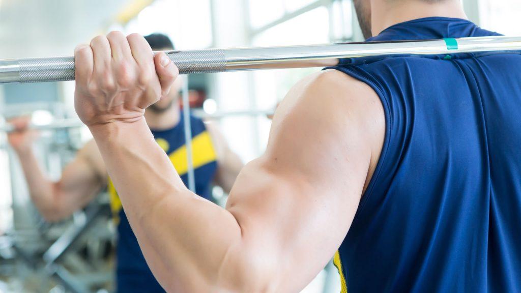 entrenamiento deltoides posterior